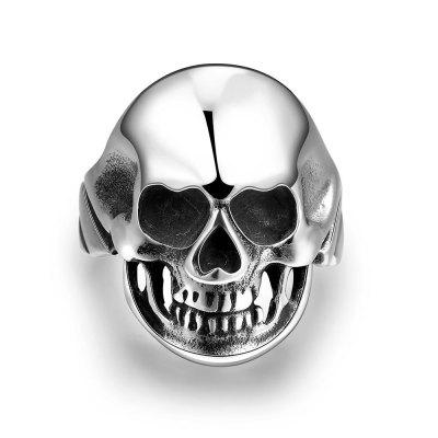 R185-11 Unique Star Celebrity Men Styles Skull Ring