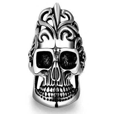 R170-9 Unique Star Celebrity Men Styles Skull Ring