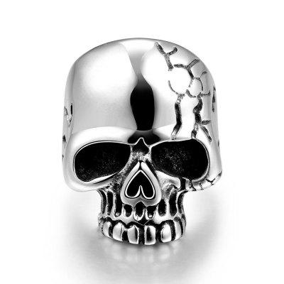 R184-11 Unique Star Celebrity Men Styles Skull Ring