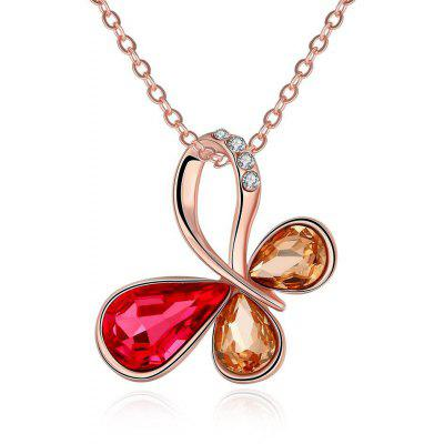 N025-A Nickle Free Antiallergic Real Gold Plated Necklace Pendants New Fashion Jewelry