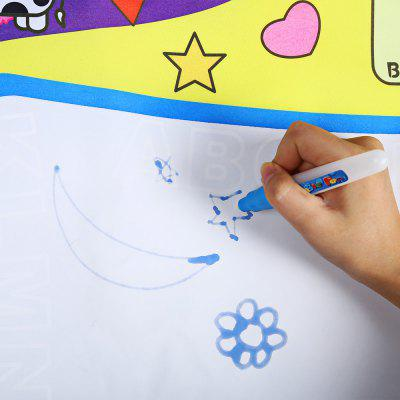 Water Drawing Painting Writing MatClassic Toys<br>Water Drawing Painting Writing Mat<br><br>Age: 24 Months+<br>Applicable gender: Unisex<br>Design Style: Old Master<br>Features: Educational<br>Material: Nylon, Polyester<br>Package Contents: 1 x Doodle Drawing Mat, 2 x Magic Pen<br>Package size (L x W x H): 34.00 x 29.00 x 1.00 cm / 13.39 x 11.42 x 0.39 inches<br>Package weight: 0.203 kg<br>Product weight: 0.110 kg<br>Puzzle Style: Drawing<br>Small Parts: No<br>Type: Intelligence toys<br>Washing: No