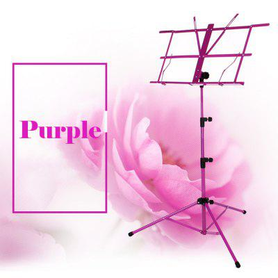 Colorful Music Stand Folding Design Adjustable High Quality