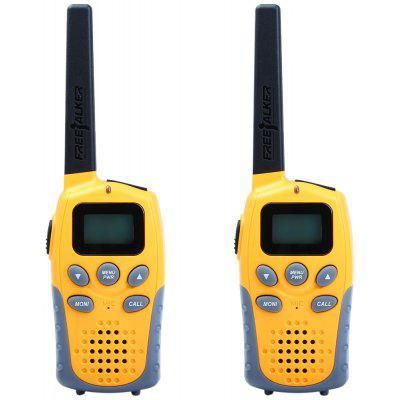 R7Y05 2pcs 22-Canali Wireless Walkie Talkie