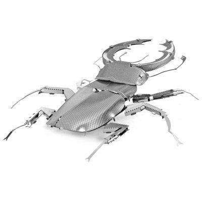 Beetle 3D Metallic Puzzle Educational DIY Toy