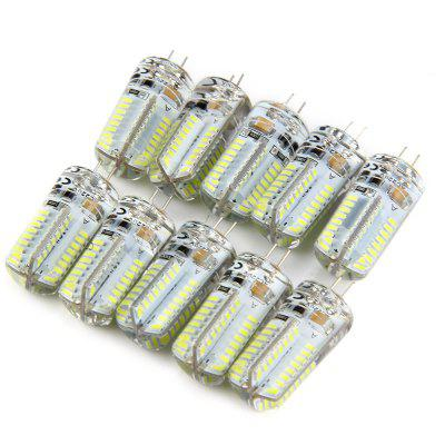 10pcs 6W G4 LED Lamp SMD 3014