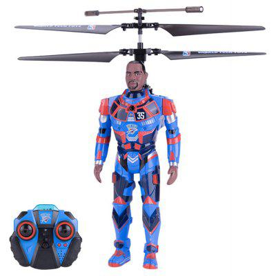 ROBOJAM No. 35982 Durant NBA Star 2.4GHz 3.5 Channel Induction RC Twin-blade Helicopter