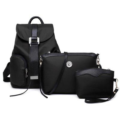 Casual Buckle Strap and Cover Design Women's Satchel
