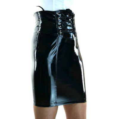 Sexy Black Mini Corset Skirt For Women