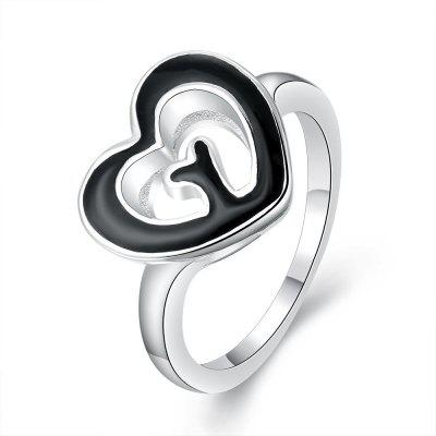 R676-8 Silver Plated New Design Finger Ring for Lady