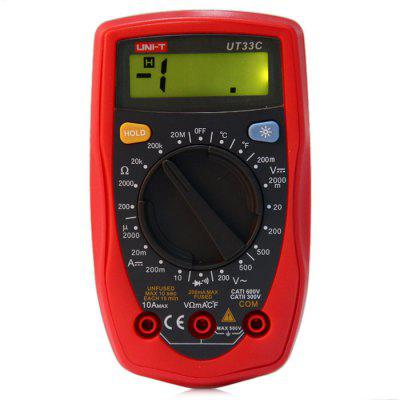UNI-T UT33C LCD Digital Multimeter