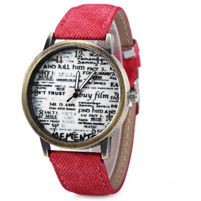 Vintage Unisex Quartz Watch