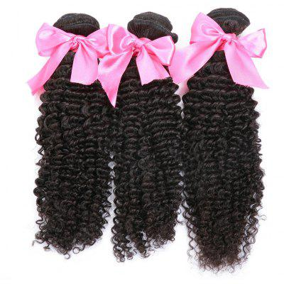 3pcs Remy Hair Indian Kinky Curly Extension Human Hair Weave