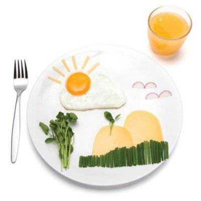 Lovely Sun Cloud Style Fried Egg Silicone Mould от GearBest.com INT
