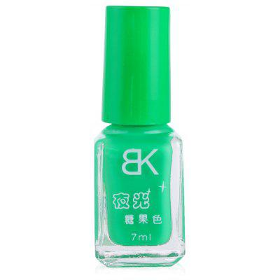 Buy GREEN 05 7ml bNoctilucent Fluorescent Lacquer Neon Glow In Dark Nail Polish for $4.98 in GearBest store