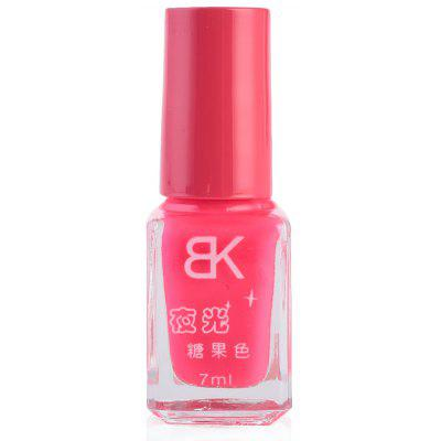 Buy ROSE MADDER 12 7ml bNoctilucent Fluorescent Lacquer Neon Glow In Dark Nail Polish for $5.01 in GearBest store