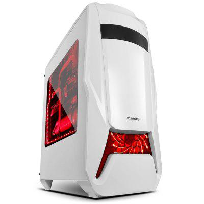 Segotep Warship EVA Mid Tower Gaming Computer Case Support ATX M-ATX ITX Motherboard