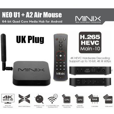 MINIX NEO U1 Smart TV Android Box - 2 Anni Garanzia Europa