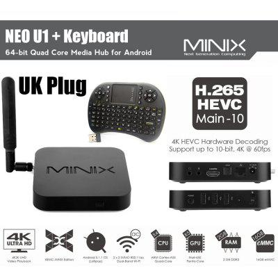 MINIX NEO U1 Android Quad Core TV Box