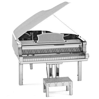 Piano 3D Metallic Puzzle Educational DIY Toy