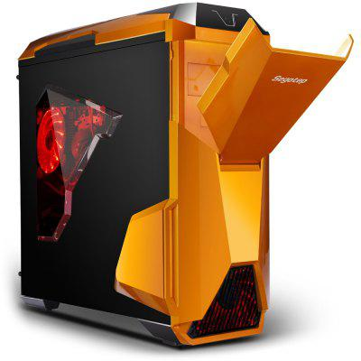 Segotep Warship EVO Mid Tower Gaming Computer Case Support E-ATX ATX M-ATX ITX Motherboard