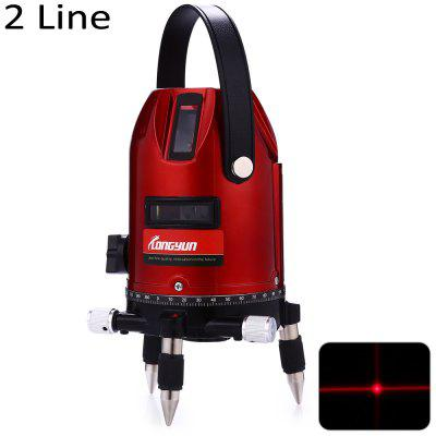 Longyun 2 Line Red Light Laser Level Instrument