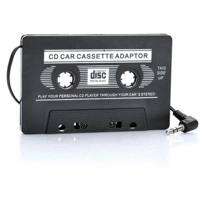 Auto Transmitter Cassette Tape Adapter for MP3 / CD / DVD Player