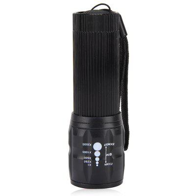 Q5 3 Modes LED Bike Light Zoomable TorchBike Lights<br>Q5 3 Modes LED Bike Light Zoomable Torch<br><br>Modes: 3Modes<br>Package Contents: 1 x Q5 Waterproof 3W 140lm 3 Modes LED Bike Light Zoomable Flashlight with Torch Holder<br>Package Size(L x W x H): 3.60 x 3.45 x 10.40 cm / 1.42 x 1.36 x 4.09 inches<br>Package weight: 0.1380 kg<br>Product Size  ( L x W x H ): 10.00 x 3.20 x 3.00 cm / 3.94 x 1.26 x 1.18 inches<br>Product weight: 0.0530 kg<br>Type: Outdoor Lantern and Light