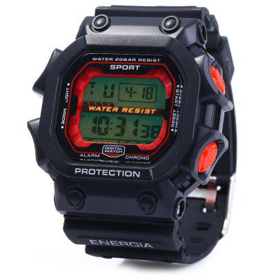 8332G Day Date Alarm Stopwatch Men LED Sports Watch