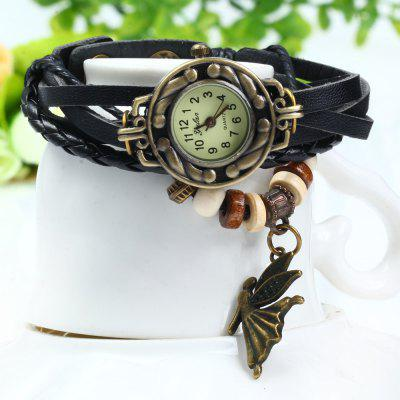 Yulan Angel Pendant Bracelet Women Quartz Watch