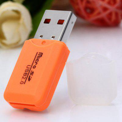 Small Cool Ice Type USB 2.0 Micro SD TF Card Reader