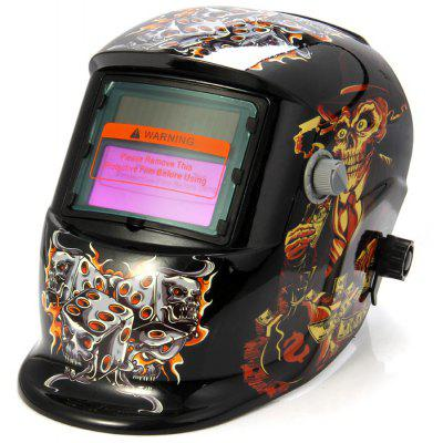 TH-107 Solar Powered Auto Darkening Welding Helmet