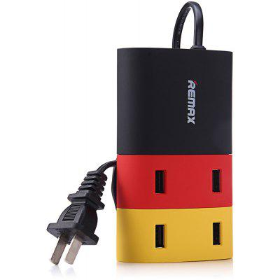 REMAX 4 ports USB Adaptateur de charge rapide USB HUB US Plug