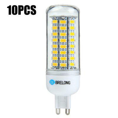 10 x BRELONG G9 12W 1200Lm SMD 5730 LED Corn Light Bulb