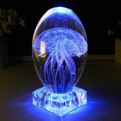 Jellyfish Music Box Decorative Night Light Gifts
