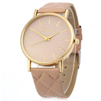 Female Analog Quartz Watch