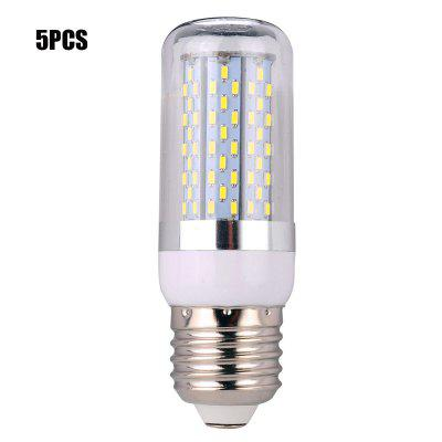 5PCS E27 18W SMD 3014 1050Lm LED Corn Bulb