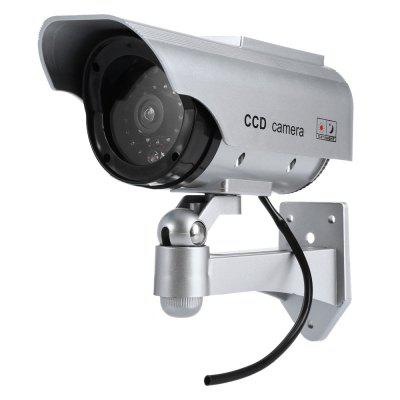 Solar Energy Dummy Surveillance Security Camera