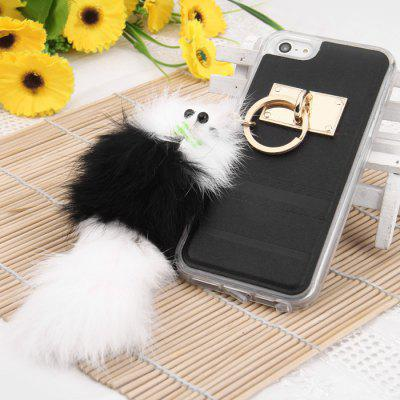Protective Case for iPhone SE / 5C / 5S with Fox Pendent