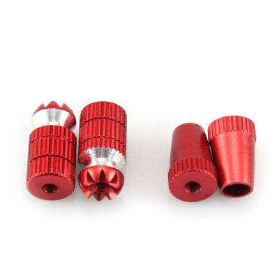 Spare CNC Aluminum Alloy Transmitter Push Rod Stick Set Fitting for RC XK K120 K123 K124 Helicopter Remote Controller