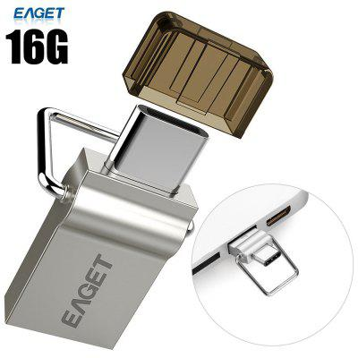 EAGET CU10 16G USB 3.0 naar Type-C Flash Drive