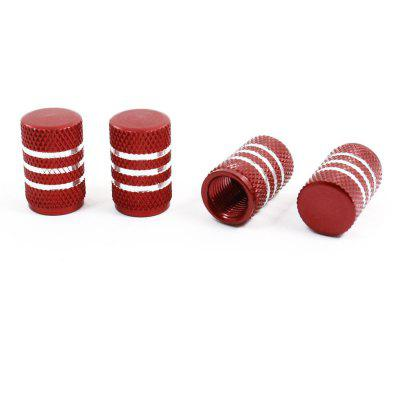 4Pcs Car Aluminium Alloy Tire Tyre Wheel Valve Caps
