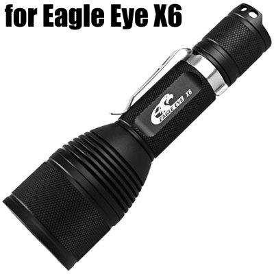 Cree XPL HI LED Flashlight Host Tube for Eagle Eye X6