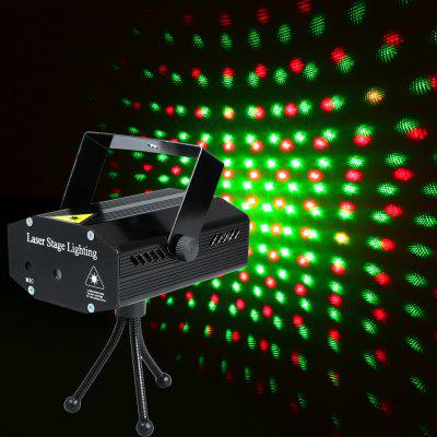 650nm 532nm Voice Activated Mini Laser Stage Projector