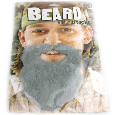 Funny Plush False Full Beard for Christmas Party