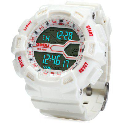 Gobu 1584 Men LED Sports Watch Military Wristwatch