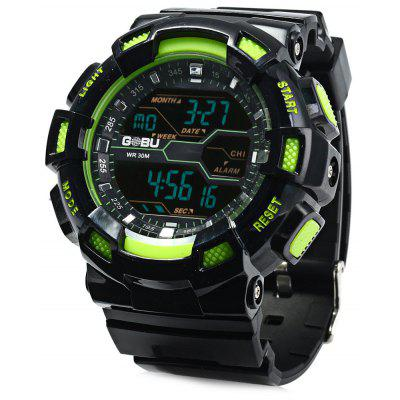 Gobu 1520 Multifunctional Men LED Sports Watch