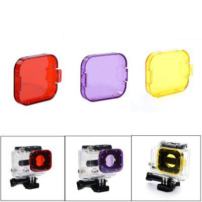 Professional Diving Filters Lens Protector for GoPro Hero 3