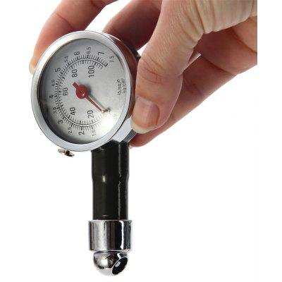 Mechanical Tire Pressure Gauge Pointer Style