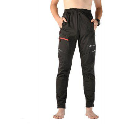 Buy ROCKBROS Unisex Thermal Fleece Cycling Pants BLACK 3XL for $41.30 in GearBest store