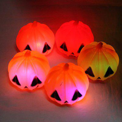 5PCS Creative Pumpkin Style LED Light